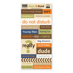 The Paper Loft - Gear Head Collection - Cardstock Pieces - Young Man