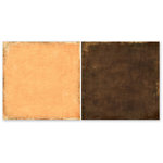 The Paper Loft - Gentler Times Collection - 12 x 12 Double Sided Paper - Marmalade