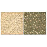 The Paper Loft - Gentler Times Collection - 12 x 12 Double Sided Paper - Garden Stroll