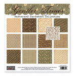 The Paper Loft - Gentler Times Collection - 12 x 12 Patterned Cardstock Pack