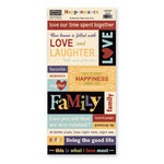 The Paper Loft Collection - Happenstance Collection - Cardstock Pieces - Family