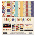 The Paper Loft Collection - Happenstance Collection - 12 x 12 Patterned Cardstock Pack