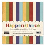 The Paper Loft Collection - Happenstance Collection - 12 x 12 Distressed Cardstock Pack