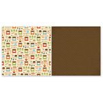 The Paper Loft Collection - Home Cookin Collection - 12 x 12 Double Sided Paper - Bake