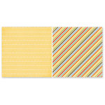 The Paper Loft Collection - Home Cookin Collection - 12 x 12 Double Sided Paper - Serve