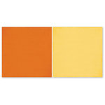 The Paper Loft Collection - Home Cookin Collection - 12 x 12 Double Sided Paper - Tangerine