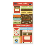 The Paper Loft Collection - Home Cookin Collection - Cardstock Pieces - Cooking