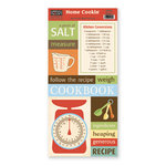 The Paper Loft Collection - Home Cookin Collection - Cardstock Pieces - Measure