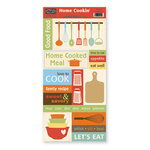 The Paper Loft Collection - Home Cookin Collection - Cardstock Pieces - Homemade