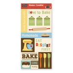 The Paper Loft Collection - Home Cookin Collection - Cardstock Pieces - Bake