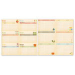 The Paper Loft Collection - Home Cookin Collection - 12 x 12 Double Sided Paper - Recipe Cards