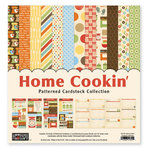 The Paper Loft Collection - Home Cookin Collection - 12 x 12 Patterned Cardstock Pack