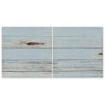 The Paper Loft - Hooked on Fishing Collection - 12 x 12 Double Sided Paper - Blue Bay Dock