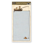 The Paper Loft - Hooked on Fishing Collection - Cardstock Pieces - A Fish Story