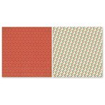 The Paper Loft - A Holly Jolly Christmas Collection - 12 x 12 Double Sided Paper - Pick Out a Tree