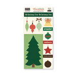The Paper Loft - A Holly Jolly Christmas Collection - Cut Apart Cardstock Pieces - Tree
