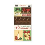The Paper Loft - A Holly Jolly Christmas Collection - Cut Apart Cardstock Pieces - Sleigh Bells