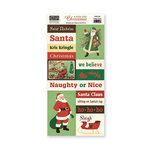 The Paper Loft - A Holly Jolly Christmas Collection - Cut Apart Cardstock Pieces - Santa Claus