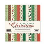 The Paper Loft - A Holly Jolly Christmas Collection - 12 x 12 Patterned Cardstock Pack
