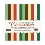 The Paper Loft - A Holly Jolly Christmas Collection - 12 x 12 Distressed Cardstock Pack