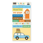 The Paper Loft - On the Go Collection - Cardstock Pieces - Road Trip