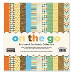 The Paper Loft - On the Go Collection - 12 x 12 Patterned Cardstock Pack