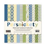 The Paper Loft - Persnickety Collection - 12 x 12 Patterned Cardstock Pack