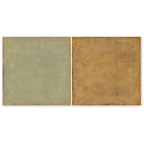 The Paper Loft - Scattered Pine Mountain Collection - 12 x 12 Double Sided Paper - Cork Bark Fir
