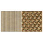 The Paper Loft - Scattered Pine Mountain Collection - 12 x 12 Double Sided Paper - Cedar Run