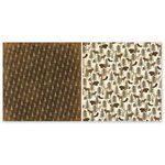 The Paper Loft - Scattered Pine Mountain Collection - 12 x 12 Double Sided Paper - Moose Creek