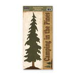 The Paper Loft - Scattered Pine Mountain Collection - Cardstock Pieces - Pine
