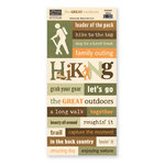 The Paper Loft - The Great Outdoors Collection - Cardstock Pieces - Hiking