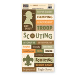The Paper Loft - The Great Outdoors Collection - Cardstock Pieces - Scouting