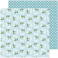 Pinkfresh Studio - Some Days Collection - 12 x 12 Double Sided Paper - Friendly Daisies