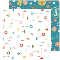 Pinkfresh Studio - Some Days Collection - 12 x 12 Double Sided Paper - This Week