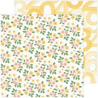 Pinkfresh Studio - Some Days Collection - 12 x 12 Double Sided Paper - Fresh Flowers