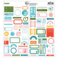 Pinkfresh Studio - Some Days Collection - Cardstock Stickers