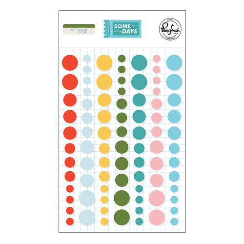 Pinkfresh Studio - Some Days Collection - Enamel Dots