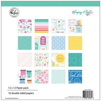 Pinkfresh Studio - Keeping It Real Collection - 12 x 12 Collection Paper Pack