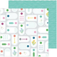 Pinkfresh Studio - Keeping It Real Collection - 12 x 12 Double Sided Paper - Real Life