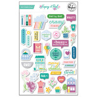 Pinkfresh Studio - Keeping It Real Collection - Puffy Stickers