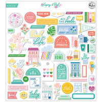 Pinkfresh Studio - Keeping It Real Collection - Ephemera Pack
