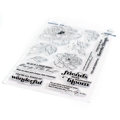 Pinkfresh Studio - Clear Photopolymer Stamps - Friendship Blooms
