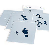 Pinkfresh Studio - Layering Stencils - Infinite Blooms
