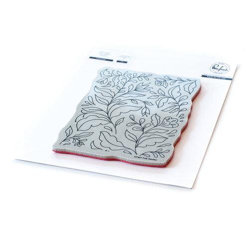 Pinkfresh Studio - Cling Mounted Rubber Stamps - Folk Garden