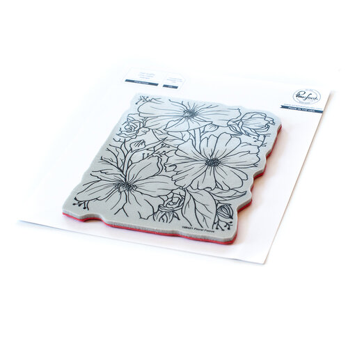 Pinkfresh Studio - Cling Mounted Rubber Stamps - Floral Focus