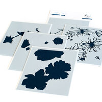 Pinkfresh Studio - Layering Stencils - Floral Focus