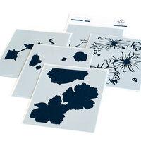 Pinkfresh Studio - Layering Stencils - Floral Focus