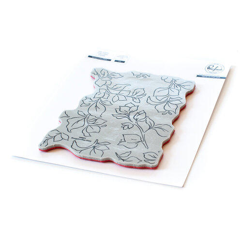 Pinkfresh Studio - Cling Mounted Rubber Stamps - Bougainvillea