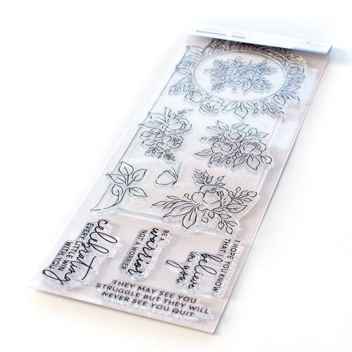 Pinkfresh Studio - Clear Photopolymer Stamps - English Garden